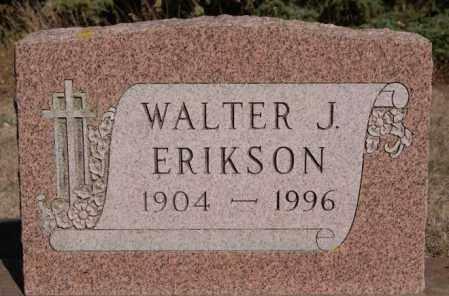 ERIKSON, WALTER J - Minnehaha County, South Dakota   WALTER J ERIKSON - South Dakota Gravestone Photos