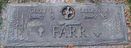FARR, DEBORAH - Minnehaha County, South Dakota | DEBORAH FARR - South Dakota Gravestone Photos