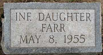 FARR, INFANT DAUGHTER - Minnehaha County, South Dakota | INFANT DAUGHTER FARR - South Dakota Gravestone Photos