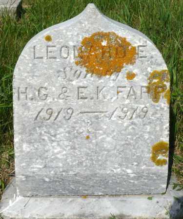 FARR, LEONARD E. - Minnehaha County, South Dakota | LEONARD E. FARR - South Dakota Gravestone Photos