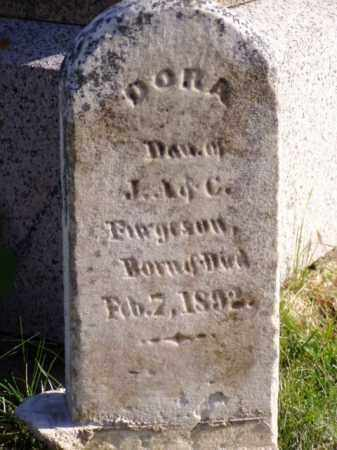 FERGUSON, DORA - Minnehaha County, South Dakota | DORA FERGUSON - South Dakota Gravestone Photos