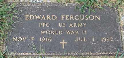 FERGUSON, EDWARD (WWII) - Minnehaha County, South Dakota | EDWARD (WWII) FERGUSON - South Dakota Gravestone Photos