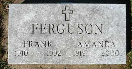 FERGUSON, FRANK - Minnehaha County, South Dakota | FRANK FERGUSON - South Dakota Gravestone Photos