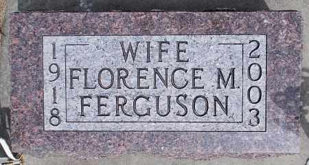 FERGUSON, FLORENCE M. - Minnehaha County, South Dakota | FLORENCE M. FERGUSON - South Dakota Gravestone Photos