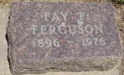 FERGUSON, FAY F. - Minnehaha County, South Dakota | FAY F. FERGUSON - South Dakota Gravestone Photos