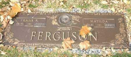 FERGUSON, MATILDA - Minnehaha County, South Dakota | MATILDA FERGUSON - South Dakota Gravestone Photos