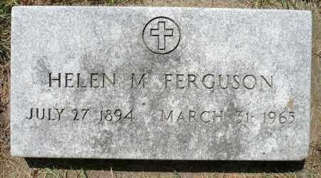 FERGUSON, HELEN M. - Minnehaha County, South Dakota   HELEN M. FERGUSON - South Dakota Gravestone Photos