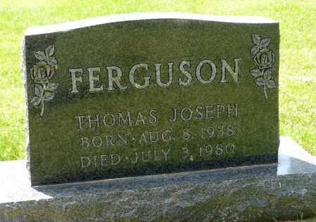 FERGUSON, THOMAS JOSEPH - Minnehaha County, South Dakota | THOMAS JOSEPH FERGUSON - South Dakota Gravestone Photos
