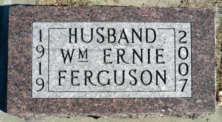 FERGUSON, WILLIAM ERNEST - Minnehaha County, South Dakota | WILLIAM ERNEST FERGUSON - South Dakota Gravestone Photos