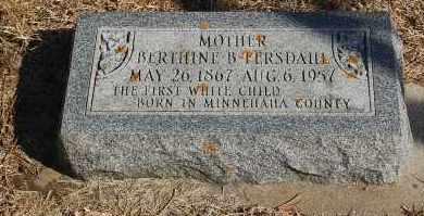 FERSDAHL, BERTHINE B. - Minnehaha County, South Dakota | BERTHINE B. FERSDAHL - South Dakota Gravestone Photos