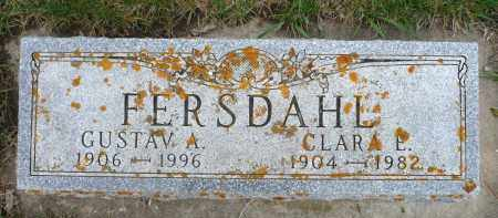FERSDAHL, GUSTAV A. - Minnehaha County, South Dakota | GUSTAV A. FERSDAHL - South Dakota Gravestone Photos