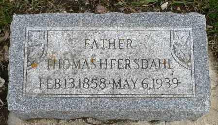 FERSDAHL, THOMAS HENRIKSEN - Minnehaha County, South Dakota   THOMAS HENRIKSEN FERSDAHL - South Dakota Gravestone Photos