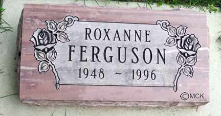 FERGUSON, ROXANNE - Minnehaha County, South Dakota | ROXANNE FERGUSON - South Dakota Gravestone Photos