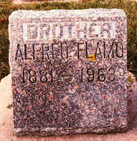 FLAMO, ALFRED - Minnehaha County, South Dakota   ALFRED FLAMO - South Dakota Gravestone Photos