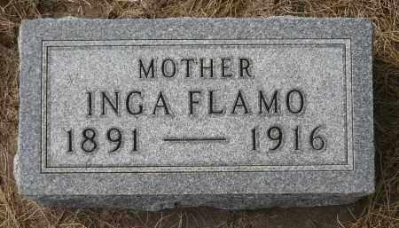 FLAMO, INGA - Minnehaha County, South Dakota   INGA FLAMO - South Dakota Gravestone Photos