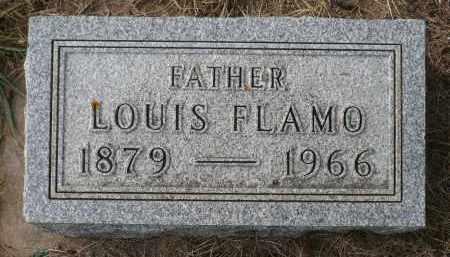 FLAMO, LOUIS - Minnehaha County, South Dakota   LOUIS FLAMO - South Dakota Gravestone Photos