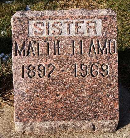 FLAMO, MATTIE - Minnehaha County, South Dakota   MATTIE FLAMO - South Dakota Gravestone Photos