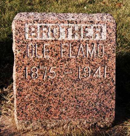 FLAMO, OLE - Minnehaha County, South Dakota   OLE FLAMO - South Dakota Gravestone Photos