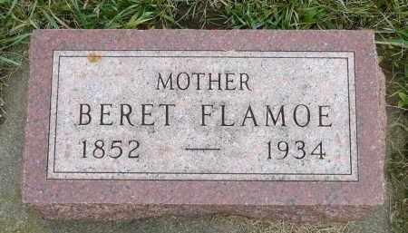 FLAMOE, BERET - Minnehaha County, South Dakota | BERET FLAMOE - South Dakota Gravestone Photos