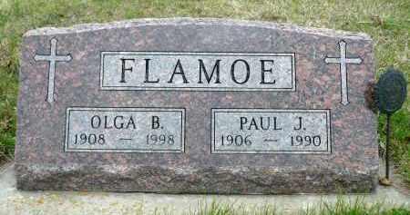 FLAMOE, PAUL J. - Minnehaha County, South Dakota | PAUL J. FLAMOE - South Dakota Gravestone Photos