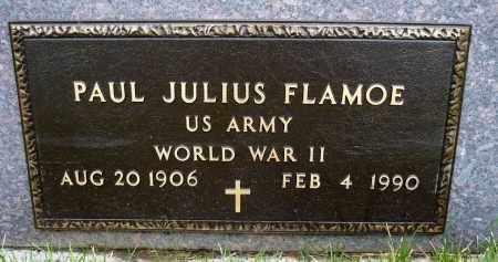 FLAMOE, PAUL JULIUS - Minnehaha County, South Dakota | PAUL JULIUS FLAMOE - South Dakota Gravestone Photos