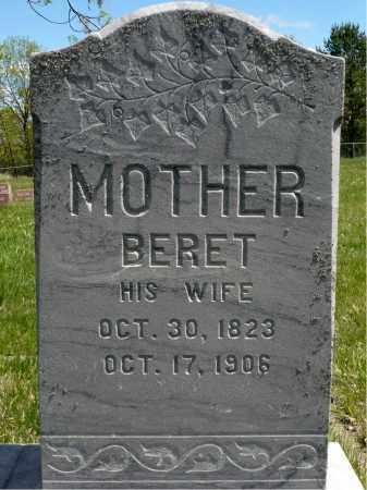 FLOREN, BERET - Minnehaha County, South Dakota | BERET FLOREN - South Dakota Gravestone Photos