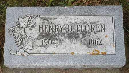 FLOREN, HENRY O. - Minnehaha County, South Dakota | HENRY O. FLOREN - South Dakota Gravestone Photos