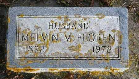 FLOREN, MELVIN M. - Minnehaha County, South Dakota | MELVIN M. FLOREN - South Dakota Gravestone Photos