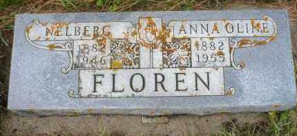 FLOREN, NELBERG - Minnehaha County, South Dakota | NELBERG FLOREN - South Dakota Gravestone Photos