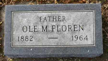 FLOREN, OLE M. - Minnehaha County, South Dakota | OLE M. FLOREN - South Dakota Gravestone Photos