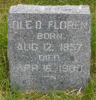 FLOREN, OLE O. - Minnehaha County, South Dakota | OLE O. FLOREN - South Dakota Gravestone Photos