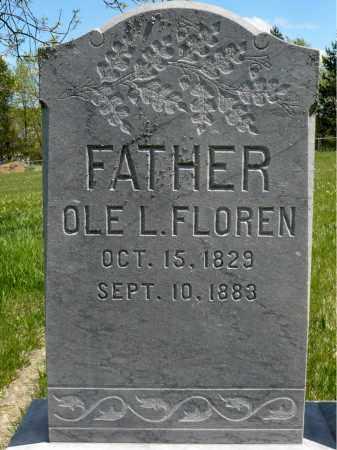FLOREN, OLE LARSEN - Minnehaha County, South Dakota | OLE LARSEN FLOREN - South Dakota Gravestone Photos