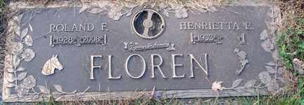 FLOREN, HENRIETTA - Minnehaha County, South Dakota | HENRIETTA FLOREN - South Dakota Gravestone Photos
