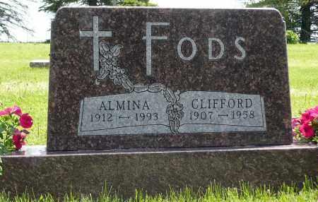 FODS, CLIFFORD - Minnehaha County, South Dakota | CLIFFORD FODS - South Dakota Gravestone Photos