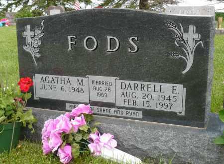 FODS, AGATHA M. - Minnehaha County, South Dakota | AGATHA M. FODS - South Dakota Gravestone Photos