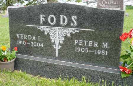 FODS, VERDA I. - Minnehaha County, South Dakota | VERDA I. FODS - South Dakota Gravestone Photos