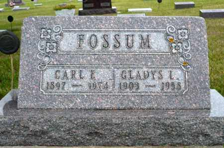 FOSSUM, CARL E. - Minnehaha County, South Dakota | CARL E. FOSSUM - South Dakota Gravestone Photos