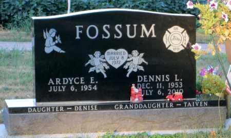 FOSSUM, DENNIS LEE - Minnehaha County, South Dakota | DENNIS LEE FOSSUM - South Dakota Gravestone Photos