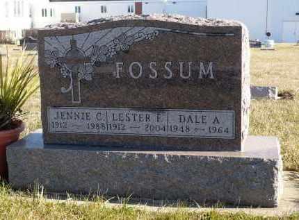 FOSSUM, DALE A. - Minnehaha County, South Dakota | DALE A. FOSSUM - South Dakota Gravestone Photos