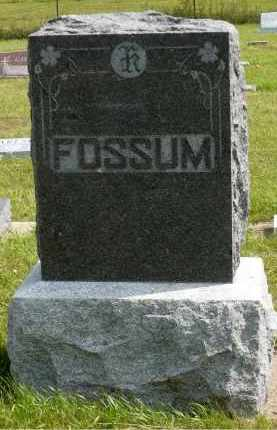 FOSSUM, EMELIA - Minnehaha County, South Dakota | EMELIA FOSSUM - South Dakota Gravestone Photos