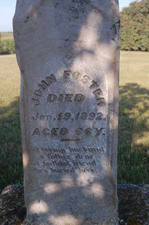 FOSTER, JOHN - Minnehaha County, South Dakota   JOHN FOSTER - South Dakota Gravestone Photos