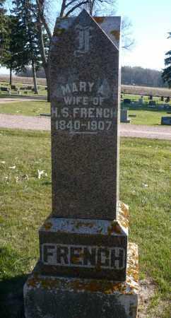 BARBER FRENCH, MARY ANN - Minnehaha County, South Dakota | MARY ANN BARBER FRENCH - South Dakota Gravestone Photos
