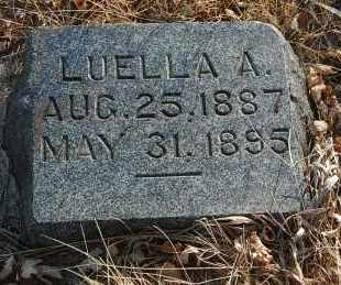 FULLER, LUELLA A. - Minnehaha County, South Dakota | LUELLA A. FULLER - South Dakota Gravestone Photos