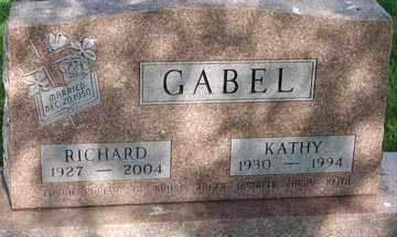 JOHNSON GABEL, MARY KATHLEEN - Minnehaha County, South Dakota | MARY KATHLEEN JOHNSON GABEL - South Dakota Gravestone Photos