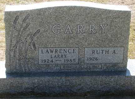 GARRY, RUTH A. - Minnehaha County, South Dakota | RUTH A. GARRY - South Dakota Gravestone Photos