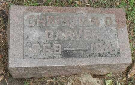 GARVER, CHRISTIAN - Minnehaha County, South Dakota | CHRISTIAN GARVER - South Dakota Gravestone Photos