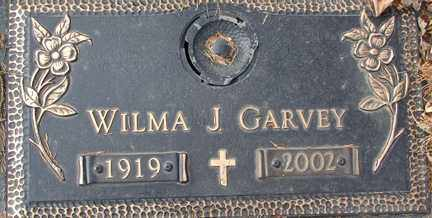 GARVEY, WILMA J. - Minnehaha County, South Dakota | WILMA J. GARVEY - South Dakota Gravestone Photos