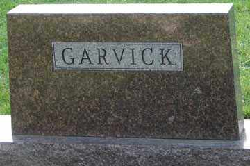 GARVICK, FAMILY MARKER - Minnehaha County, South Dakota | FAMILY MARKER GARVICK - South Dakota Gravestone Photos