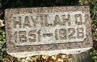 GATES, HAVILAH O. - Minnehaha County, South Dakota | HAVILAH O. GATES - South Dakota Gravestone Photos