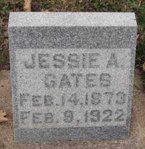 GATES, JESSIE A. - Minnehaha County, South Dakota | JESSIE A. GATES - South Dakota Gravestone Photos